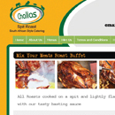 Challas Roast Website