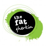 Logo Design for The Fat Gherkin Cafe