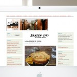 brazen city web design
