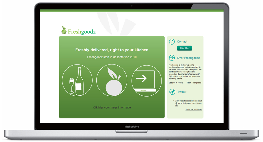 Website Design for Fresh