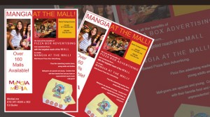 Leaflet Design for Mangia Media New York