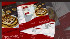 Menu Design for Coffee Shop