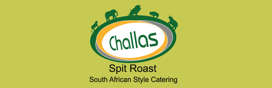 Branding for Challas Spit Roast Northern Ireland