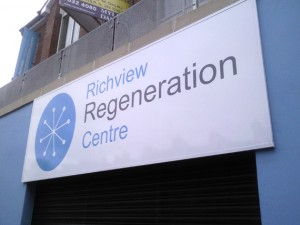 richview regeneration centre branding