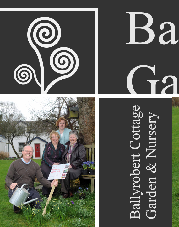 Ballyrobert Cottage Garden Logo Design