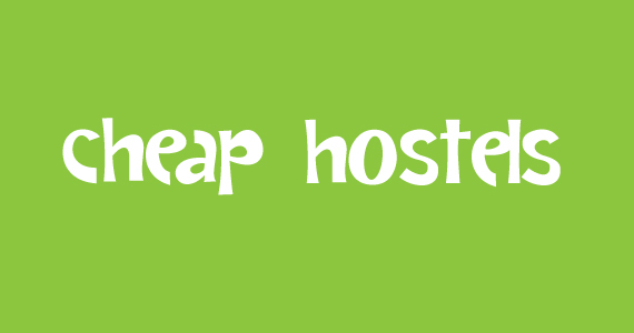 Cheap Hostels Logo Design