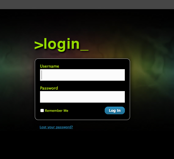 wordpress-custom-login-design