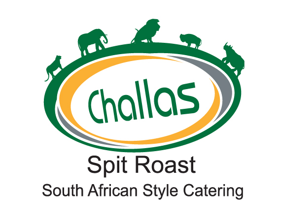 graphic design belfast challas hog roast logo design